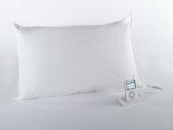 almohada con altavoz