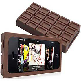 Funda de chocolate para iPhone