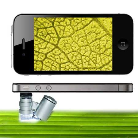 Microscopio para iPhone 4