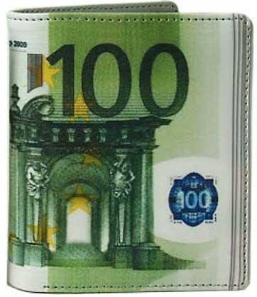 Cartera cien euros