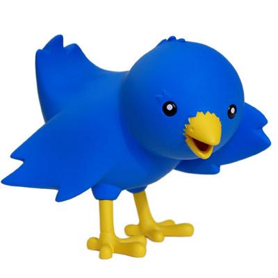 Ollie, el pájaro de Twitter