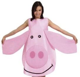 Disfraz de cerdo