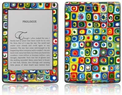 Kindle con skin