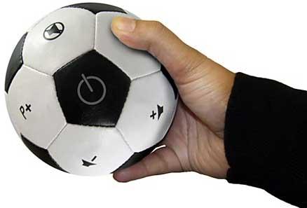 Mando a distancia-balón de fútbol