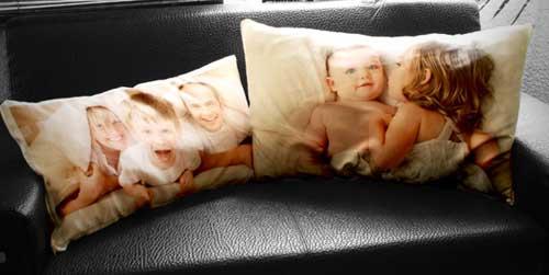 Almohadas con fotos