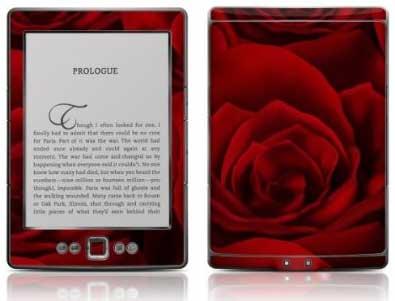 Skin para Kindle rosa