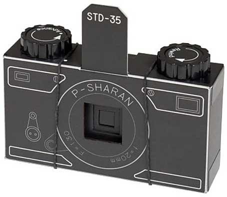 Kit para construir una cámara estenopeica