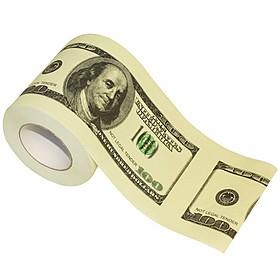 Papel higiénico de 100 dólares